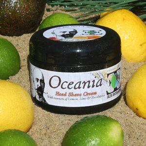 Oceania Head Shave Cream